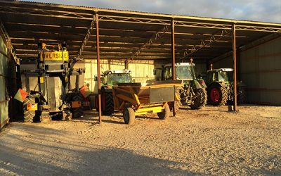 Tractors and Front-end Loaders